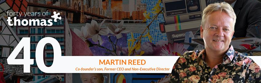 Cabecera del blog de Martin Reed v3